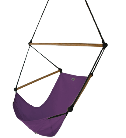 Gentil The Original Hanging Hand Crafted Canvas Hammock Chair.